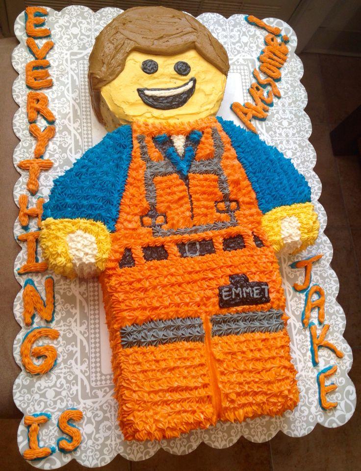 Emmet lego cake!