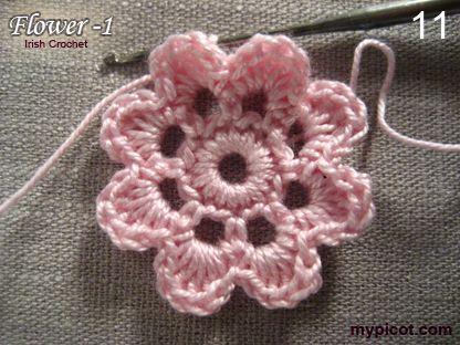 MyPicot | Free crochet patterns ✭Teresa Restegui…