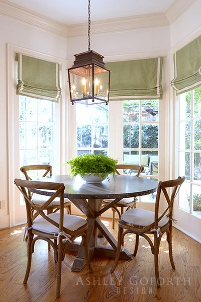 High Quality Ashley Goforth Design | Overbrook   Roman Shades In Kitchen