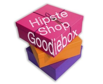 Box full of goodies from the 'Hippe Shops'