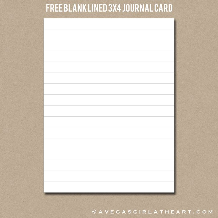 250 best To print-Journal Cards images on Pinterest Journal - blank lined page