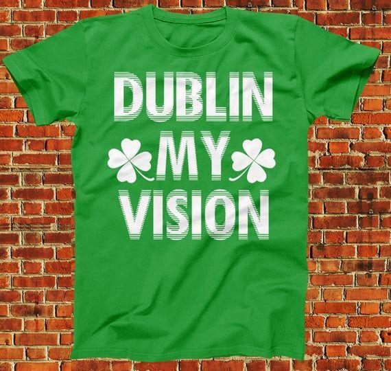 Shamrock Clover St Patrick/'s Day T-Shirt Irish Paddy/'s Funny Bar Party Drinking