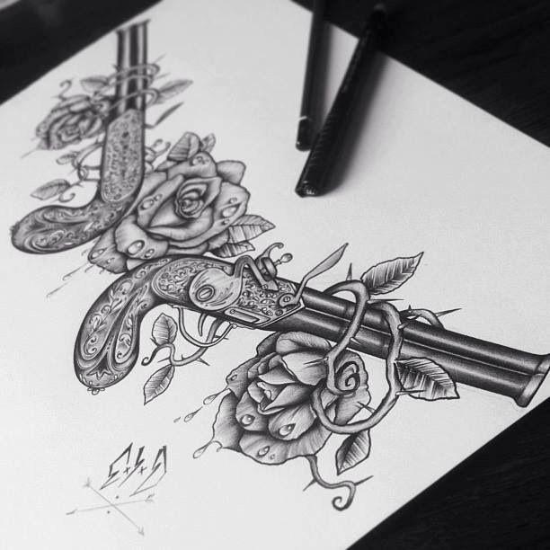 Rose Pistolet