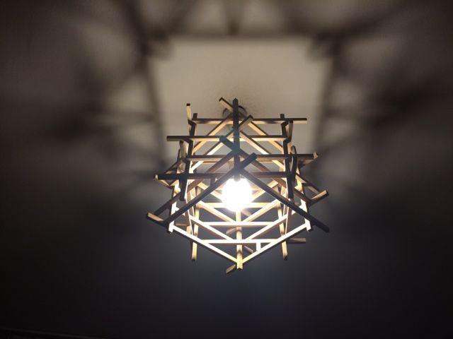 Tasarım Harikaları: Ahşap tavan lambam