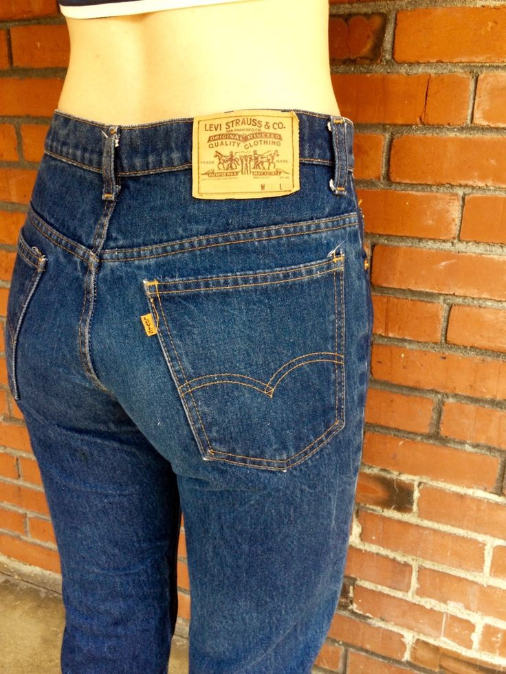 Dark Wash Levi's 517 Orange Tab Jeans 30 Waist Made in USA High Waisted by HuntedFinds on Etsy https://www.etsy.com/listing/242770266/dark-wash-levis-517-orange-tab-jeans-30