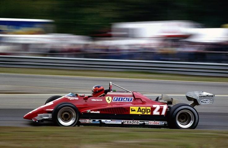 f1 Zolder - Ferrari 126C2.