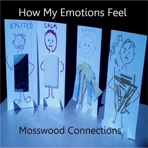 Feel Your Feelings with Upcycled Texture People | Mosswood Connections