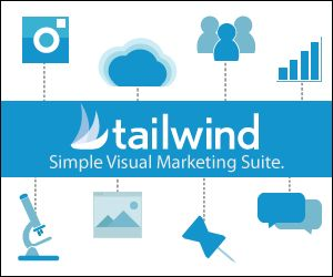 Tailwind Visual Marketing Suite helps you schedule your pins and instagram, great for time management #schedule #time