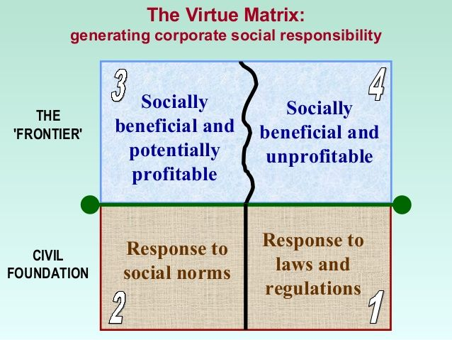 the virtue matrix