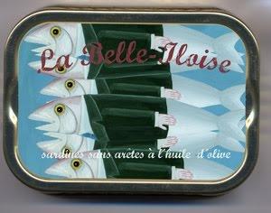 Les sardines en boîte :o)