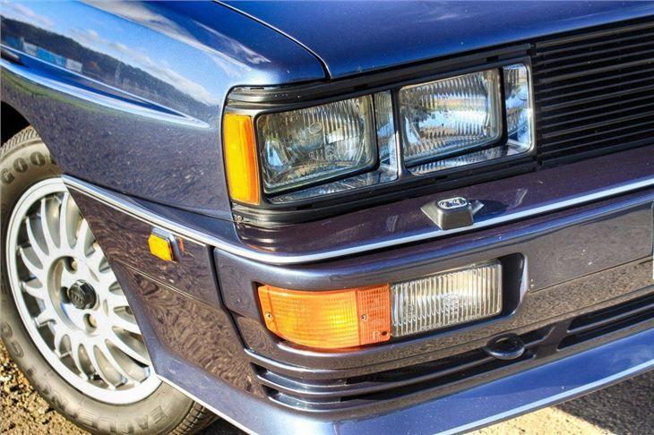 Audi Quattro, real Quattros have quad Hella headlights..