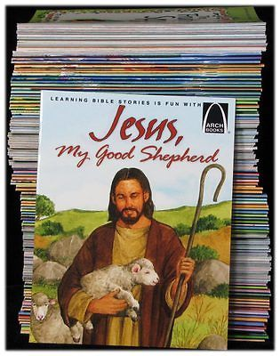 15 Arch Books Bible Stories Quality Religious Books for Children Kids Most Good