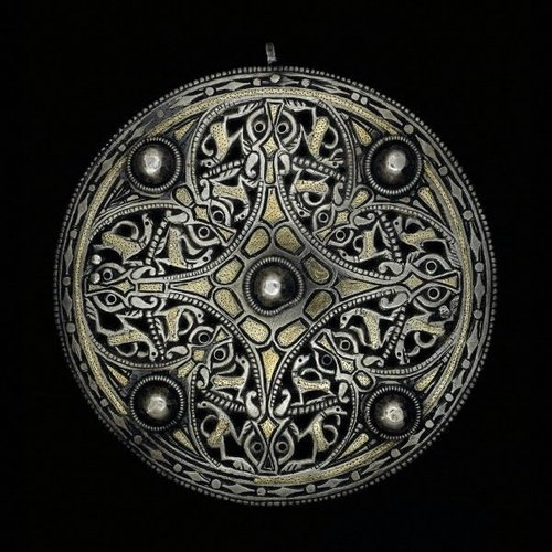 The Strickland Brooch  Anglo Saxon, 9th century, The British Museum