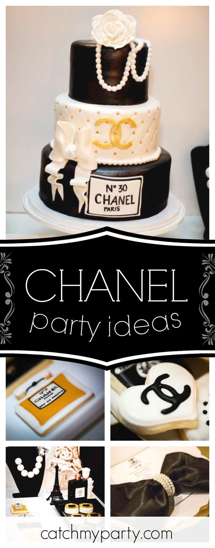 Coco Chanel No30 Birthday Dinner Party