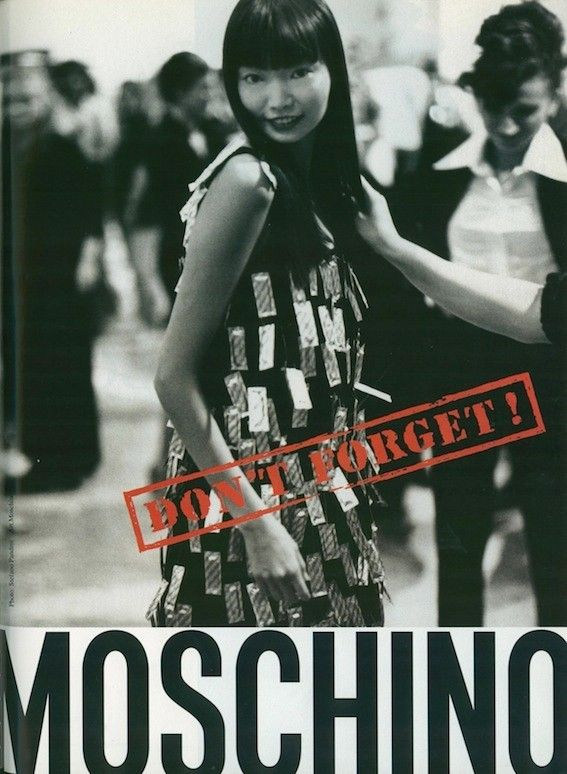 Moschino's rebellious old school ads | Dazed