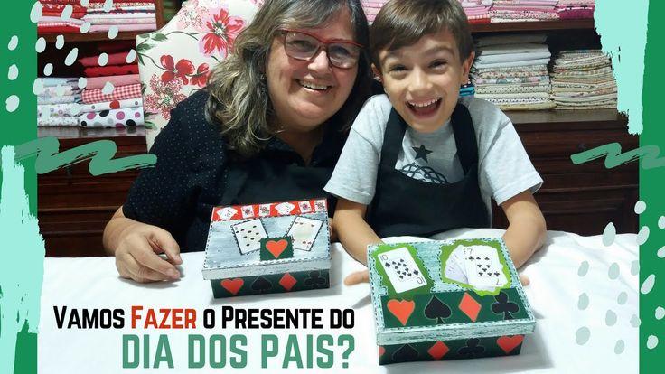Vamos Fazer o Presente do Dia dos Pais? Caixa de Baralhos em MDF!