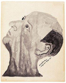 © Arnold Schönberg, Zelfportret / Self-Portrait, 1935.