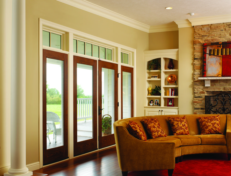 12 best hinged patio doors images on pinterest hinged patio doors therma tru doors french hinged patio door systems fiber classic oak note the arched bookcase planetlyrics Images