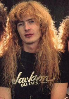 Ten 806 Dave Mustaine Young   INFOSEEK
