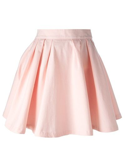 MAISON ABOUT High Waisted Skater Skirt