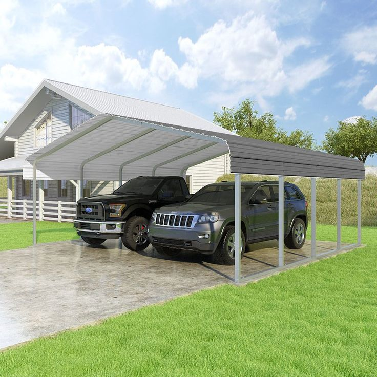 Classic 20 Ft. x 20 Ft. Canopy Steel carports, Canopy