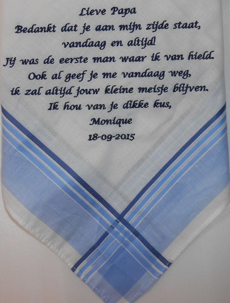 Vader Van De Bruid Cadeau