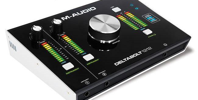 NAMM 2015: Delta Bolt 1212 Audio Interface by M-Audio http://www.producerspot.com/namm-2015-delta-bolt-1212-audio-interface-m-audio