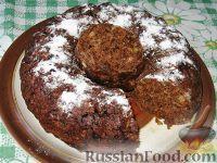 Фото к рецепту: Постная шоколадная коврижка
