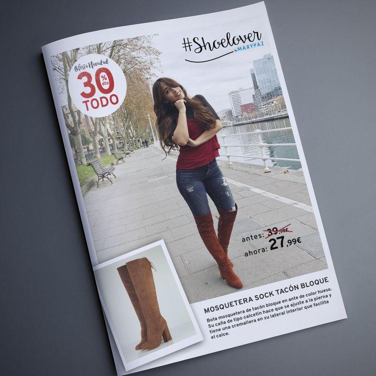 TODO 30% DTO. ¡¡OFERTA NAVIDAD by MARYPAZ!! En tiendas y MARYPAZ.COM  Nuestra #Shoelover @fiorellaechegaray ya se ha hecho con las suyas ¡Ella si que sabe como combinarlas!  Hazte con esta BOTA ANTE aquí ►http://www.marypaz.com/bota-tacon-bloque-y-cordon-0135616i275-75221.html  #SoyYoSoyMARYPAZ #Follow #winter #love #fashion #colour #tendencias #marypaz #locaporlamoda #BFF #igers #moda #zapatos #trendy #look #itgirl #invierno #AW16 #igersoftheday #girl  **Promoción válida hasta el 31 de…