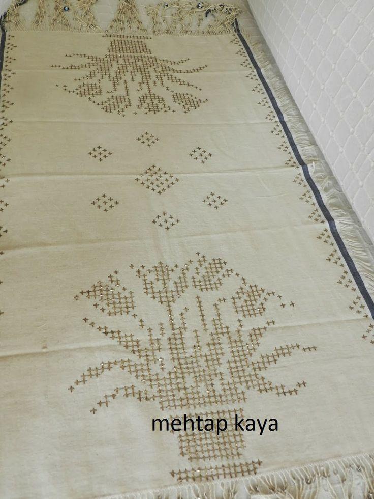 Mehtap Kaya - Tel Kırma / Bartın Work - embroidery with silver threads