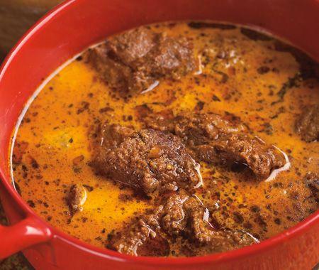 Lamb In Green Cardamom Curry Recipe