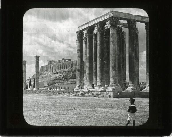 Columns of temple of Olympian Zeus, Acropolis, ...   saskhistoryonline.ca