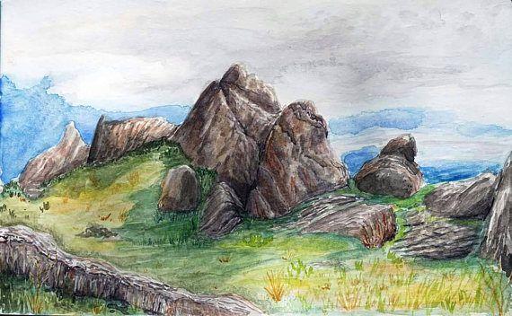 New Jack City Sawtooth Canyon Barstow Rock Climbing Art