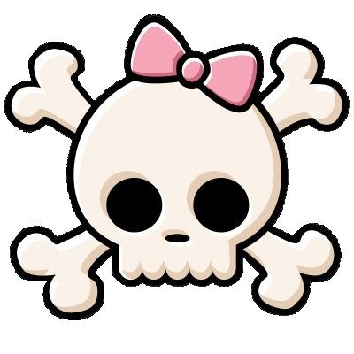 31 awesome girly skull - photo #5
