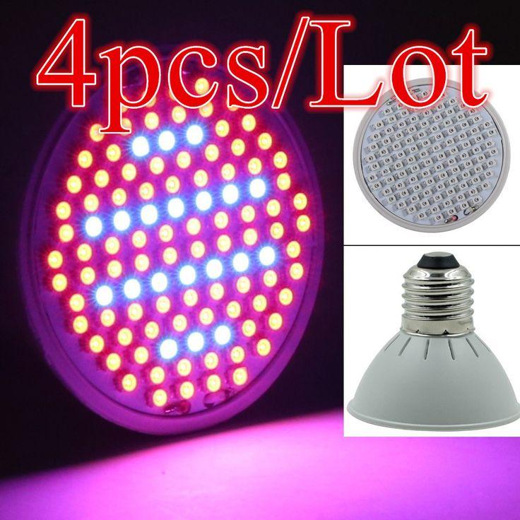 (4 개/몫) 106 LEDs 빛 E27 10 와트 AC85-265V 전체 스펙트럼 실내 식물 램프 식물 Vegs 공장 빛 도매