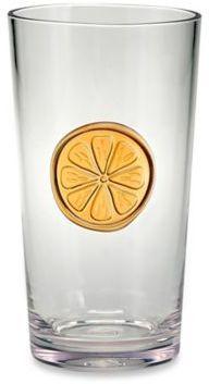 Bed Bath & Beyond Citrus Medallion Highball Glass
