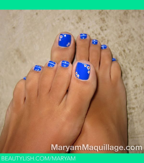 Royal Toes | Maryam M.'s (Maryam) Photo | Beautylish