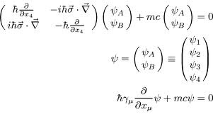 The Dirac Equation, foundation of our understanding of fermions, from which all matter is made.