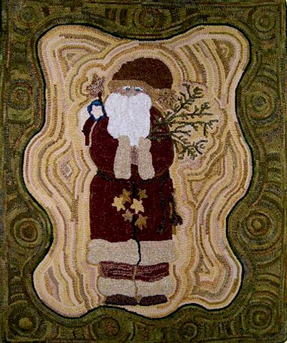 Find This Pin And More On Rug Hooking Holidays By Michelelnelson1 Primitive Wool