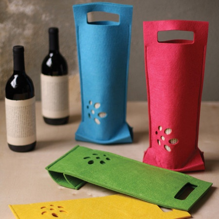 I pinned this 4 Piece Lincoln Wine Bag Set from the All I Want for Christmas event at Joss and Main!