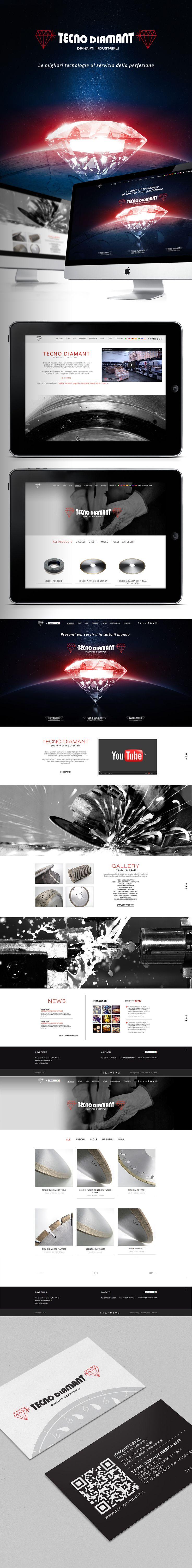 Tecno Diamant - Produzione e commercio utensili diamantati. Diamanti industriali Tecno Diamant è un'azienda leader nella produzione e distribuzione di utensili diamantati per gres porcellanato, monocottura, pietre naturali, marmi e graniti.  #graphicdeisgn #stampa #webdesign #webmarketing