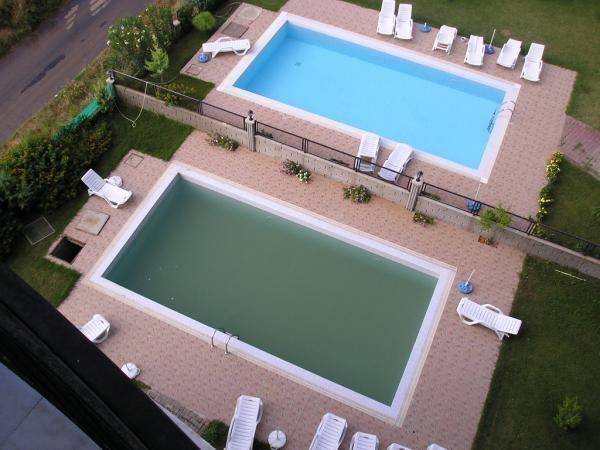 Se se deparar com a sua piscina com água verde, temos a solução! #piscina #casa #jardim #limpeza