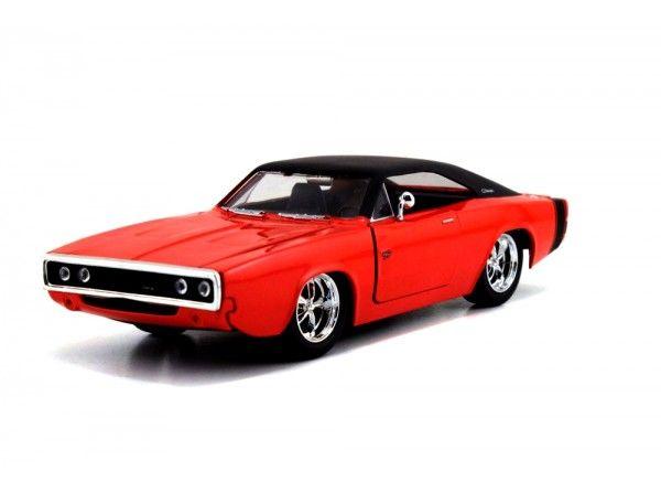 Jada 1970 Dodge Carger RT 1/24 HardTop Merah