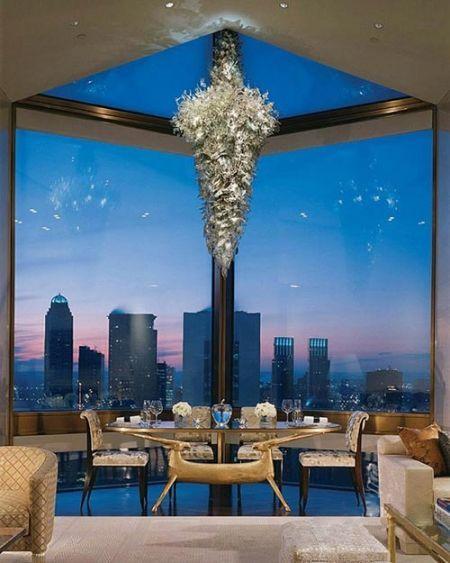 La increíble Ty Warner Penthouse en el Hotel Four Seasons de Nueva York