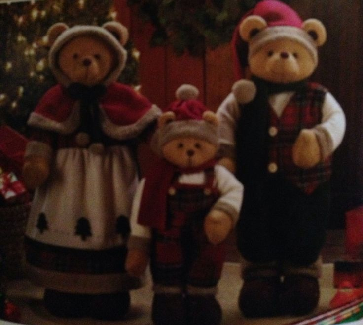 $119.95 Holiday Bear Family On Sale Now till November 22nd, 2013.