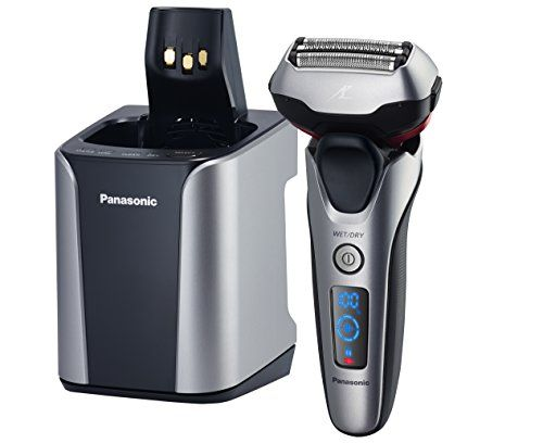 The award-winning ES-LT7N-S Panasonic men's shaver is designed with three floating, The  shavers stainless-steel, hypoallergenic Arc3 foils follow facial contours for closeness and High-speed 13,000 cpm linear motor uses active shave sensor technology to detect beard