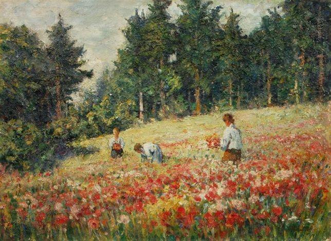 Trhání květin, po 1930