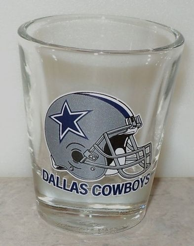 Dallas Cowboys Helmet Star Gray Blue Football Team Shot Glass Shooter-This Item is for sale at LB General Store http://stores.ebay.com/LB-General-Store ~Free Domestic Shipping ~