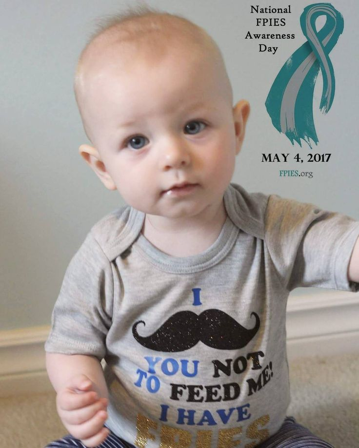 FPIES Onesies  I [mustache] you not to feed me, I have FPIES.