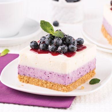 Gâteau au fromage et bleuets - Recettes - Cuisine et nutrition - Pratico Pratiques